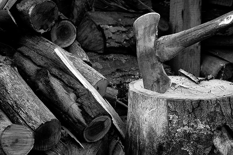 axe-wood
