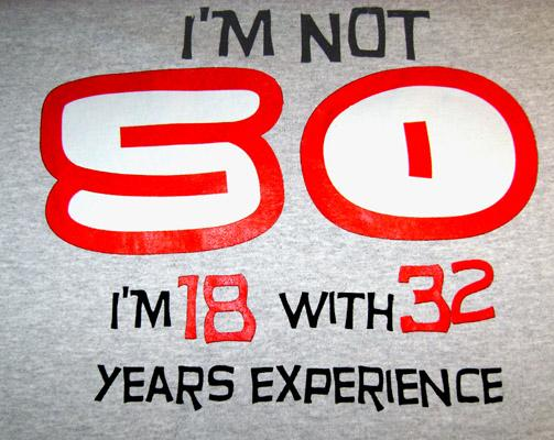 50th-birthday-gift-t-shirt-experience-400