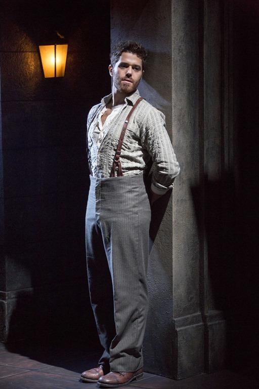 Josh Young as Che in Evita 2014